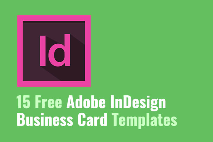 15 Free Adobe InDesign Business Card Templates