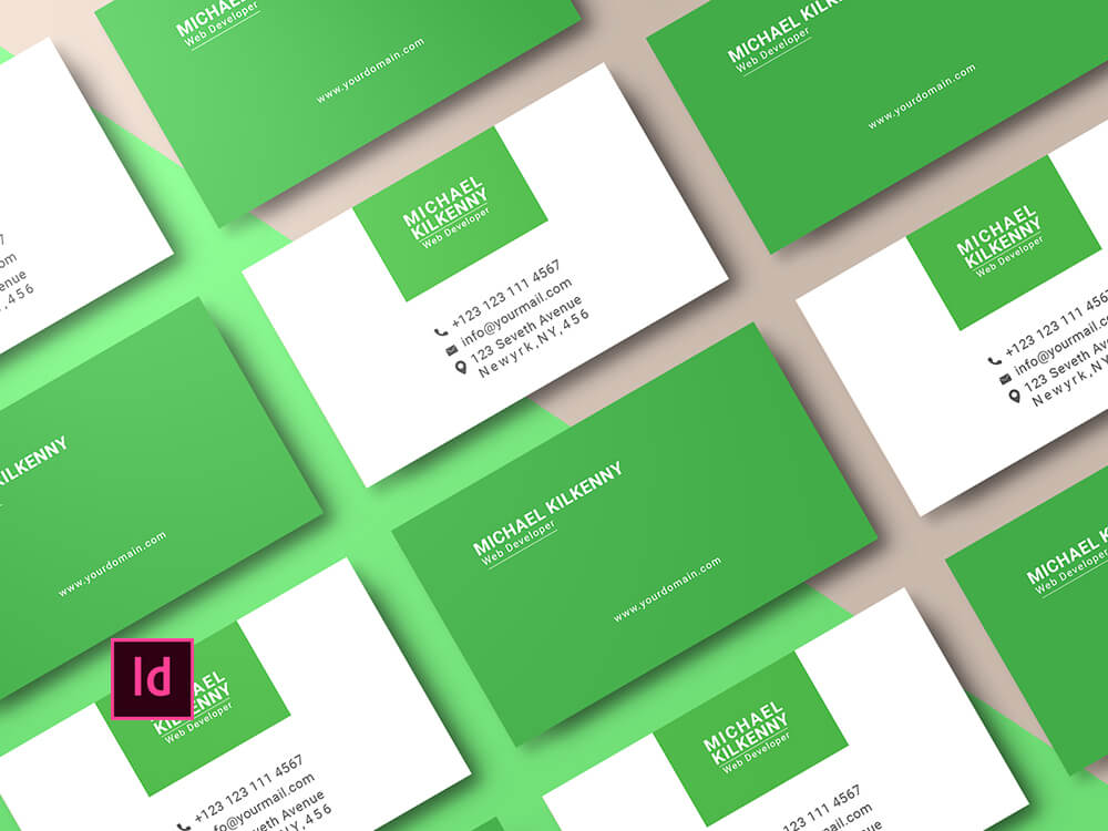 Free Adobe InDesign Template