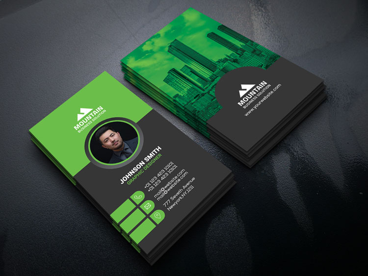 Factory & Industrial Business Card Template