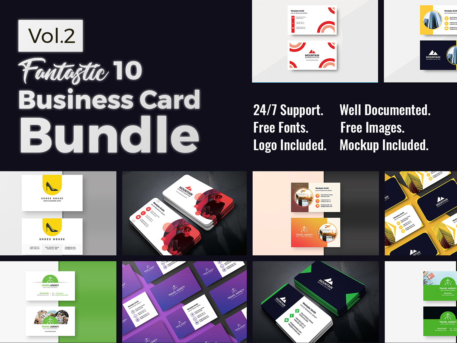10 Business Card Bundle Vol.2